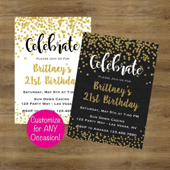 invitation party adult
