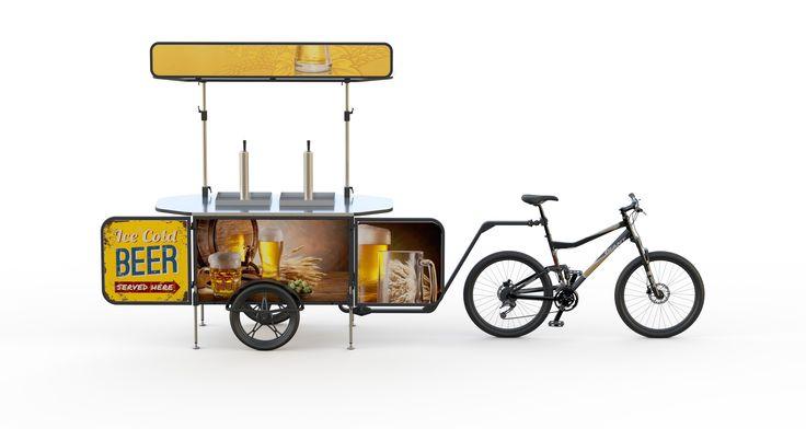 bicycle beer cart | Start a beer bike business - BizzOnWheels