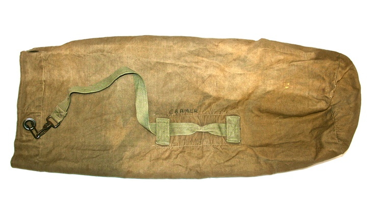 Military Ditty Bag Military Vintage Bags