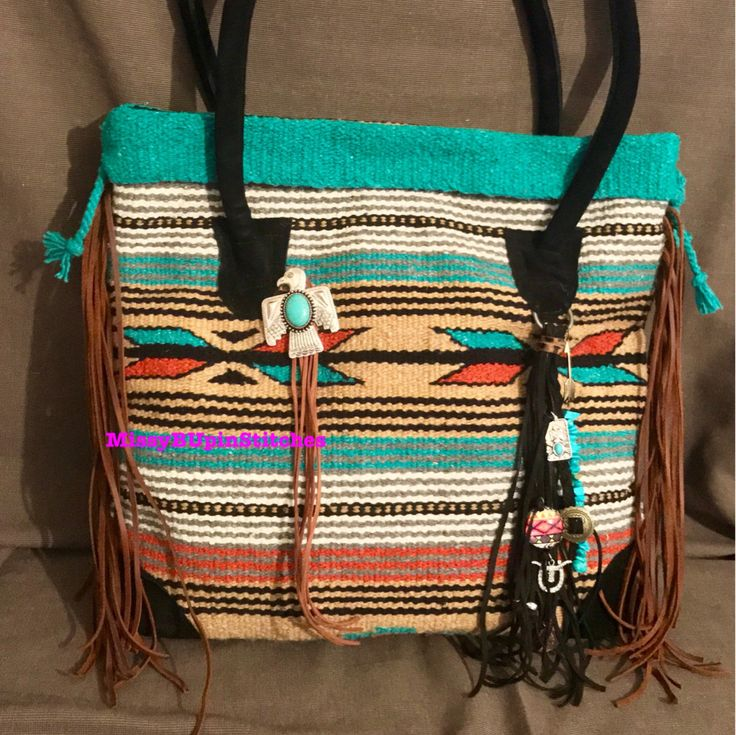 A personal favorite from my Etsy shop https://www.etsy.com/listing/542395594/saddle-blanket-bag