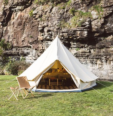 Glamping and bell tent hire for weddings, events and festivals. We offer a luxury camping experience and pop-up accommodation services.