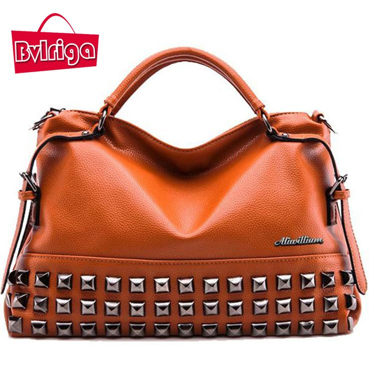 Women Bag Ladies Women Messenger Bags Handbags Women Famous Brands Big Shoulder Bag Rivet Dollar Prices Fashion Bolsos //Price: $57.47 & FREE Shipping //     #womenbags