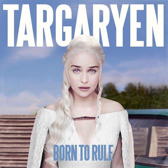 Game Of Thrones Emilia Clarke Daenerys Targaryen Lana Del Etsy In 2020 Vinyl Record Album Covers American Werewolf In London Album Covers