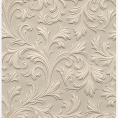 paintable embossed wallpaper - Google Search