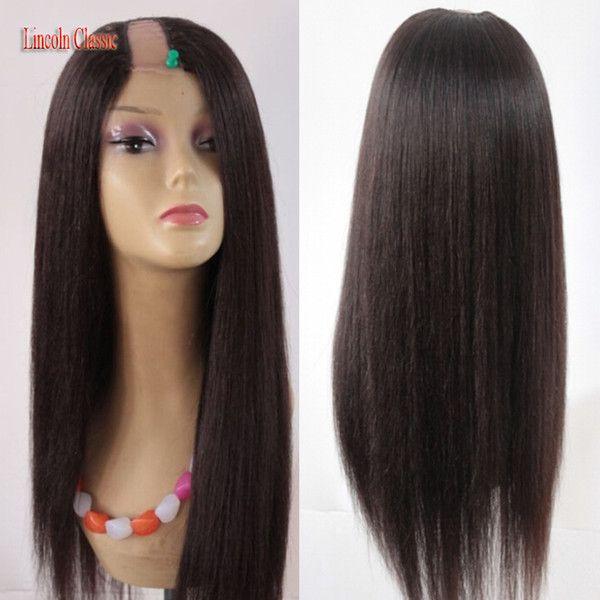 Perucke schwarz lange haare