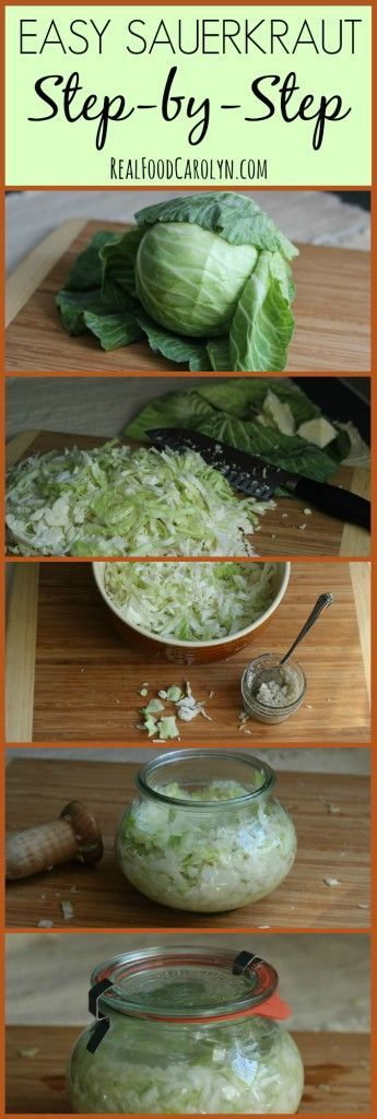 How to Make Sauerkraut … Easy Step-by-Step Tutorial!   Real Food Carolyn