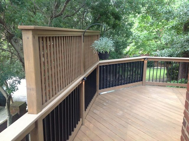 17 best images about privacy deck screens on pinterest for Deck privacy screen panels