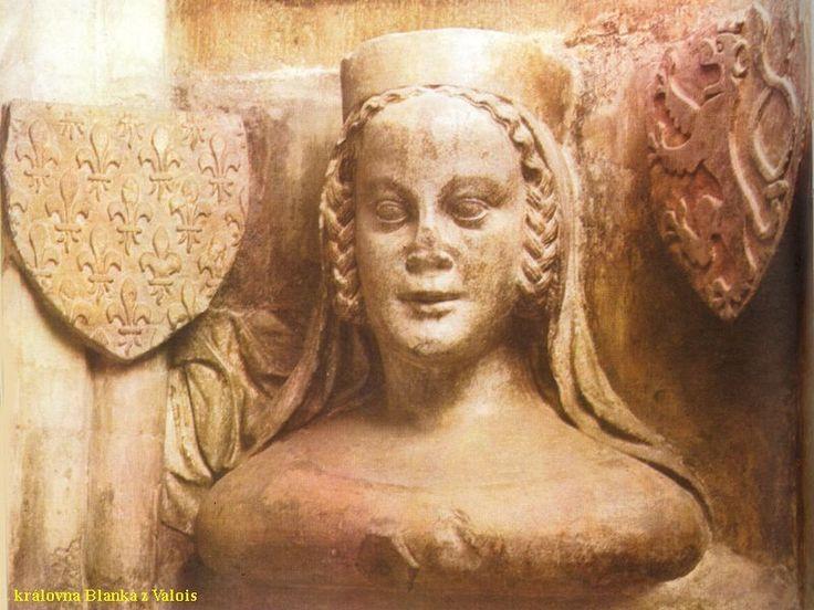 Blanka z Valois - 1.žena