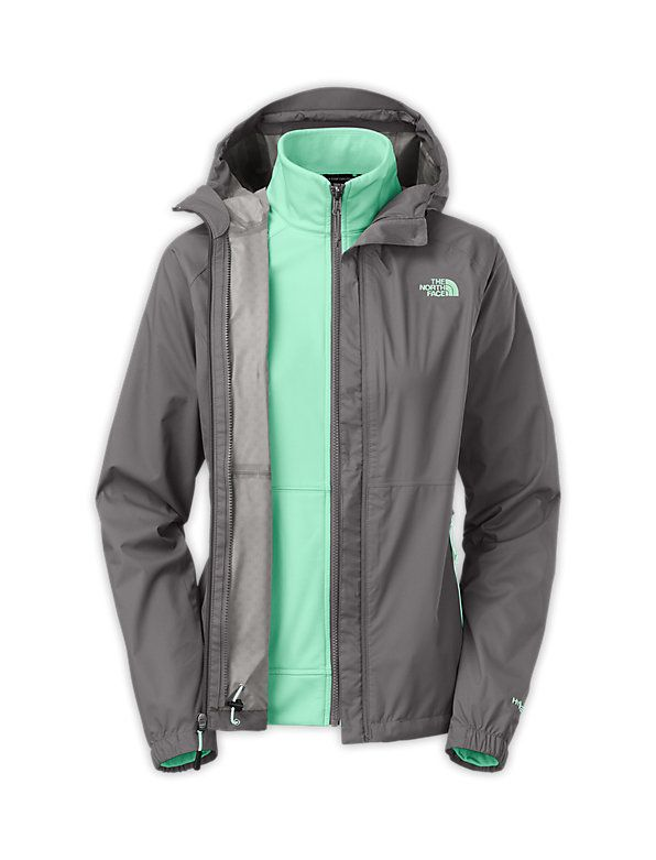 Love the color combo!///The North Face Women's Jackets & Vests WOMEN'S MOMENTUM TRICLIMATE®
