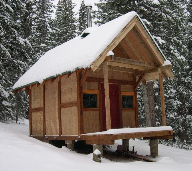 Links from the tiny house blog to other sites separated for Stick built cabin plans