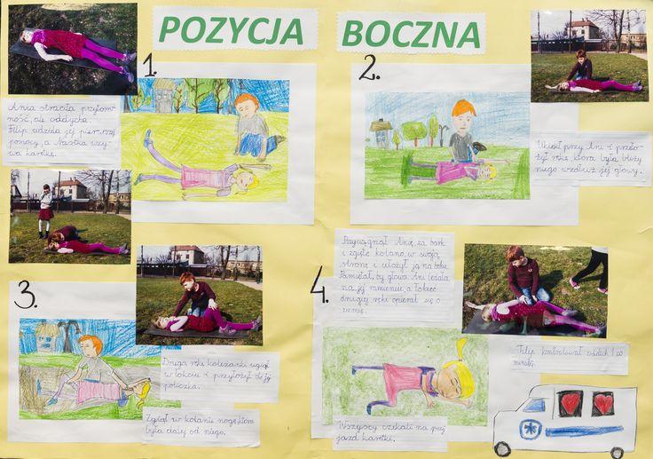 pierwsza pomoc / first aid / edukacja / education / children / szkoła / school / poster
