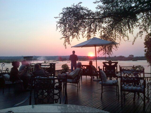 Near the Victoria Falls Zimbabwe