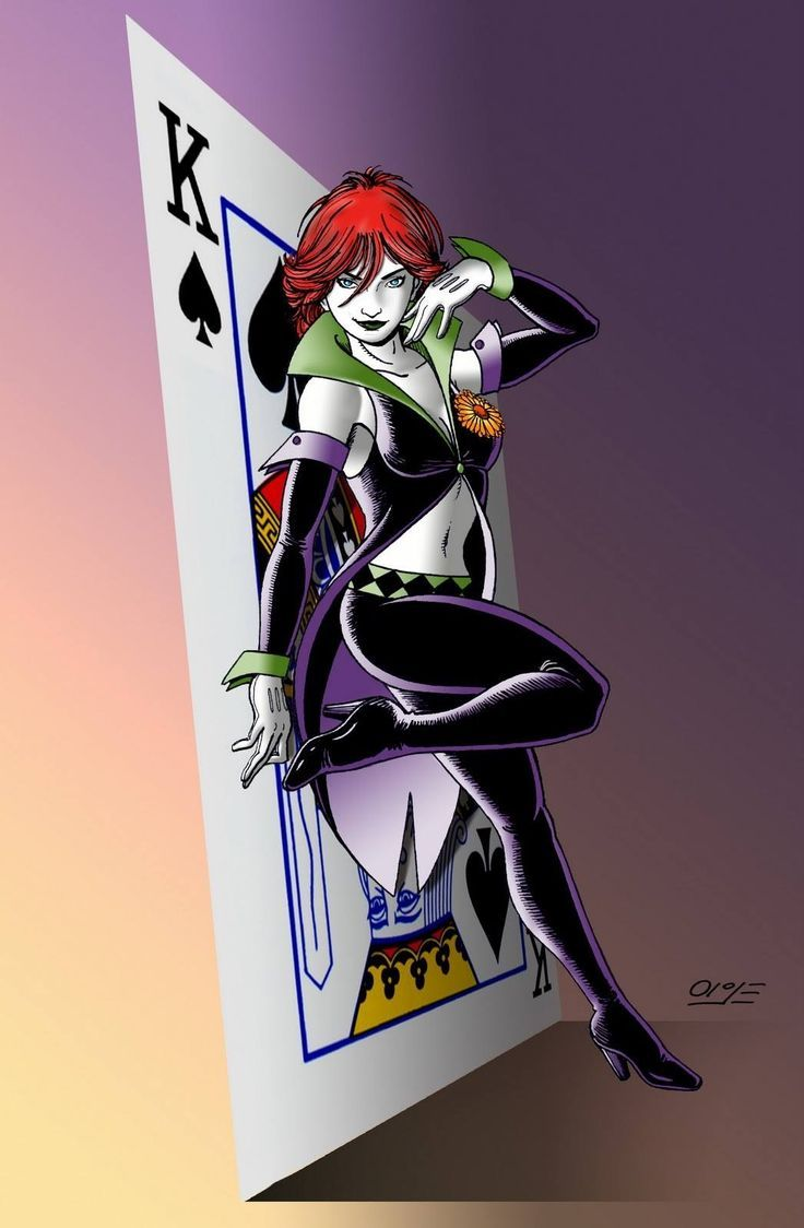 dc comics duela dent | Duela - Joker's Daughter