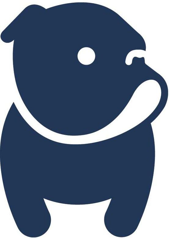 Civvy bulldog logo by Darren Whittington | Logo menagerie ...
