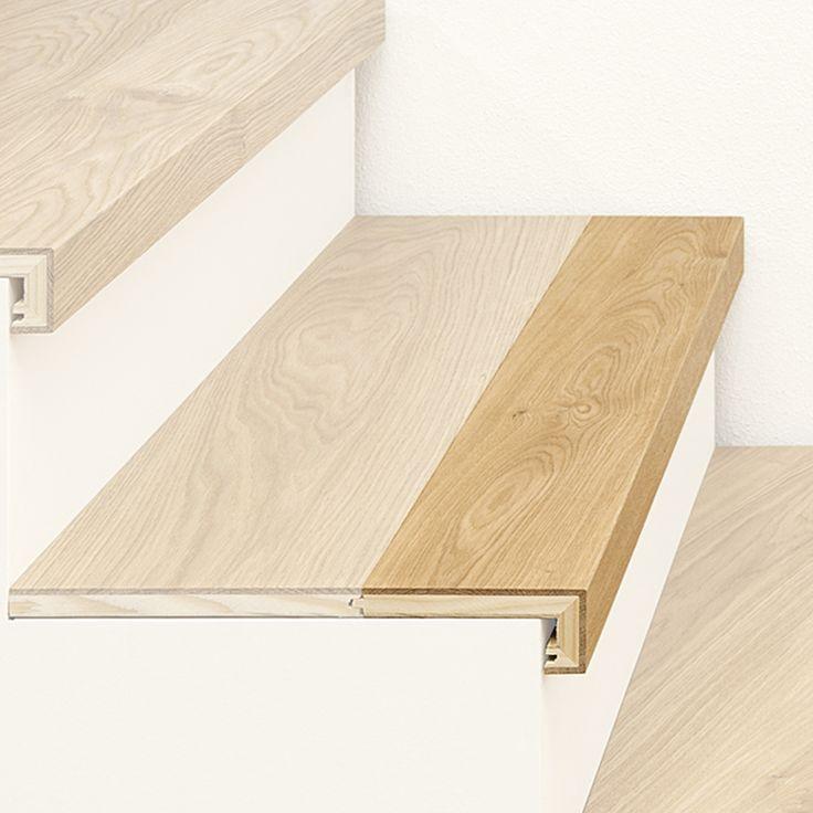 ArtNr. 38001 Treppenkantenprofil 3-Schicht mit Abschluss. Unser Treppen-Sortiment bietet viele exklusive und funktionelle Lösungen für alle Arten von Stiegen. In Manufakturarbeit fertigen wir hochwertige Treppenelemente ganz nach Ihren individuellen Vorstellungen. Zu den beliebtesten Produkten gehört das Treppenkantenprofil mit Abschluss, welches zur waagrechten Verkleidung von Stufen geeignet ist und aus Ihrem Original-Parkettboden nach Maß individuell gefertigt wird. #treppe #stiege…