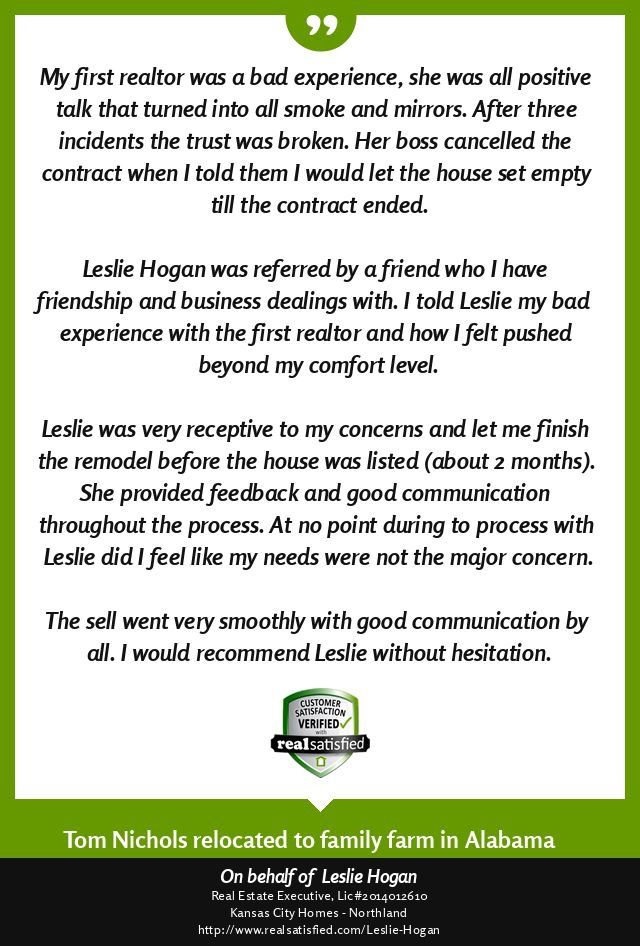 Leslie Hogan Real Estate with Better Homes and Gardens Real Estate Kansas City