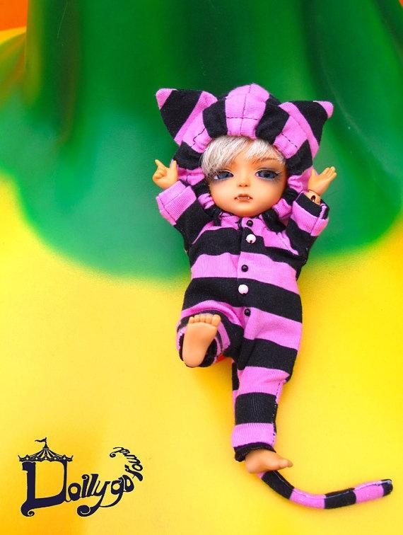Cheshire cat costume for pukipuki~   $18