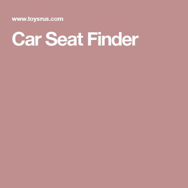 Car Seat Finder