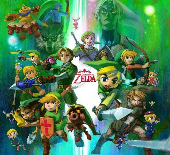 ZELDA / Link / Custom Gift WRAP / Nintendo / Birthday