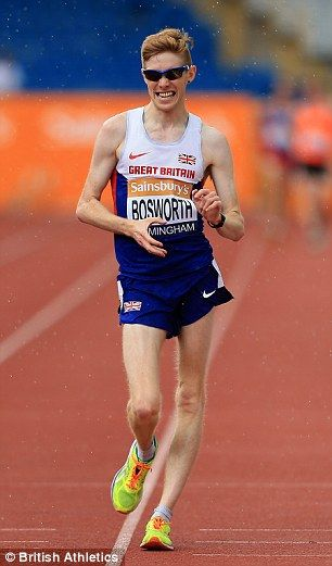 Tom Bosworth - Athletics. 20km walk.