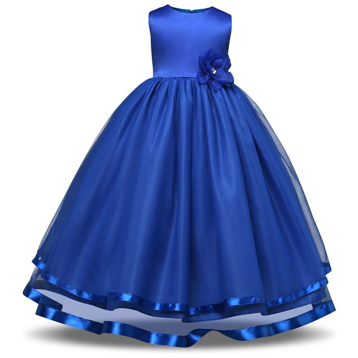 Kids Girls Party Wear Costume For Children Summer Princess Wedding Dress Girls Ceremonies Teenagers Prom Dresses Formal Vestidos  #Soap #body #dresses #scarfs #child #toddler #Jewlwey #baby #Handmade #formal