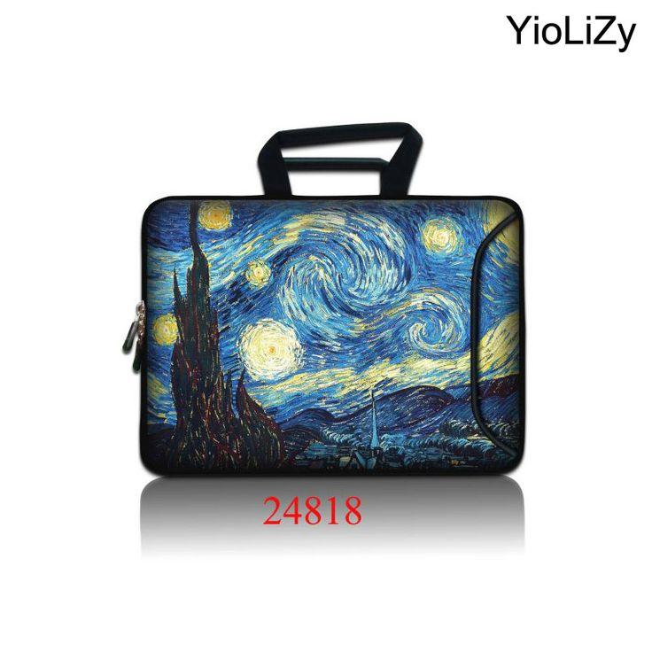 Van Gogh print Laptop pouch Tablet Bag 9.7 12 13 1…
