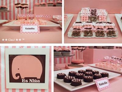 Pink Elephant Baby Shower: Shower Ideas, Elephant Baby Showers, Baby Ideas, Lauren Shower, Adorable Baby, Parties Ideas, Elephants Baby Shower, Shower Parties Plans, Pink Elephants