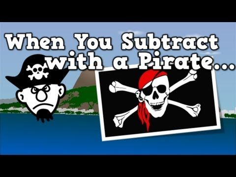 When You Subtract with a Pirate ~ My kids adore this! Free video.