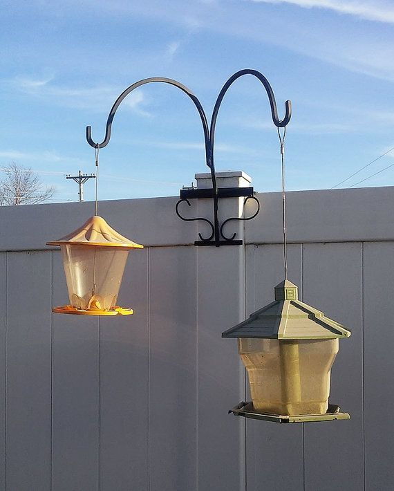 Double Hangar Shepherd S Hook For Vinyl Fence Backyard