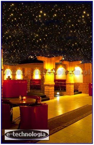 Oświetlenie Restauracji - Niesamowite Gwieździste Niebo Aranżacje