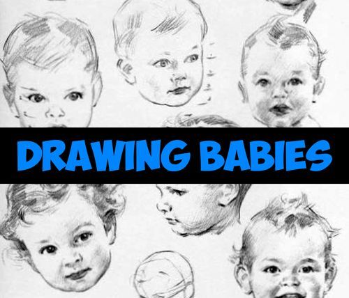 Today we will show you how to draw a realistic baby face with the correct proportions. Drawing an adult face is hard enough, baby faces are so much more difficult. This article is also a reference sheet to the correct proportions of a baby and toddler head/face.