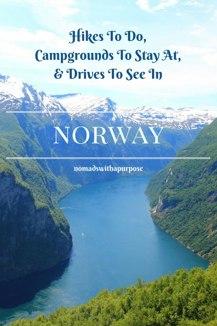 The best hikes to do in Norway (kid friendly) and which campgrounds to stay at and roads to drive while in Norway.