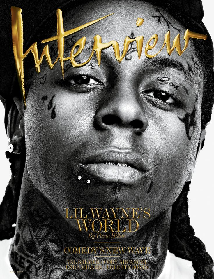 Lil wayne interviewMusic, Lilwayne, To Kim, Weezy Baby, Face Tattoo, Lil Wayne, Magazines Covers, People, Interview Magazines