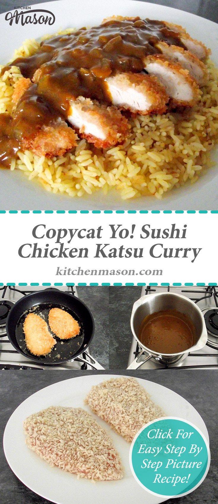 Chicken Katsu Curry | Copycat | Yo! Sushi | Japanese