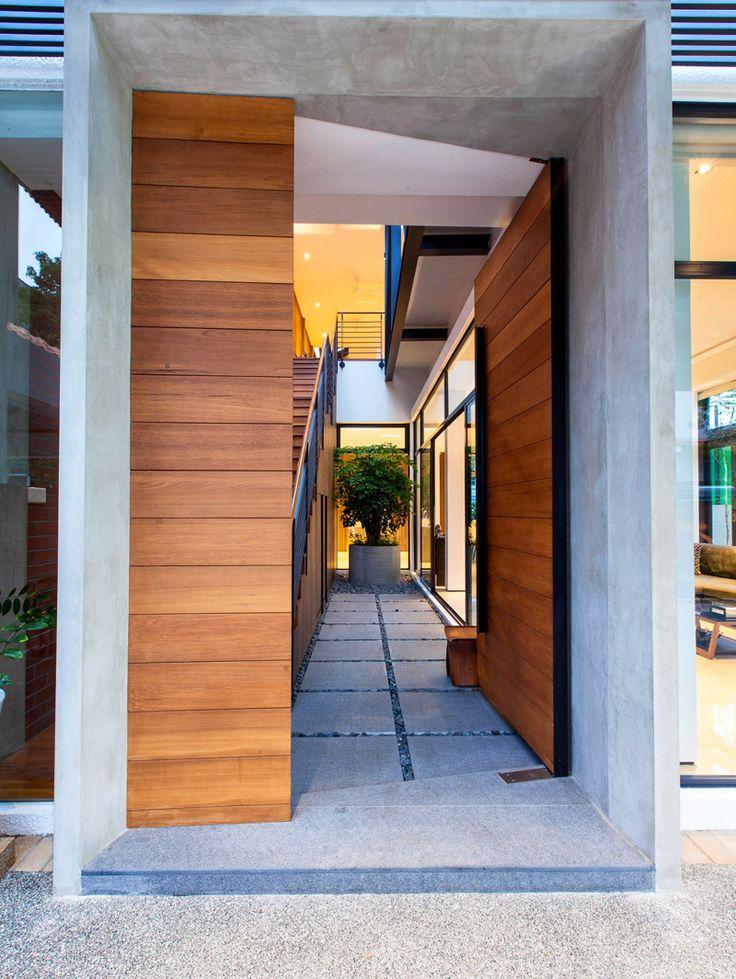 Best 25 Modern Entrance Ideas On Pinterest