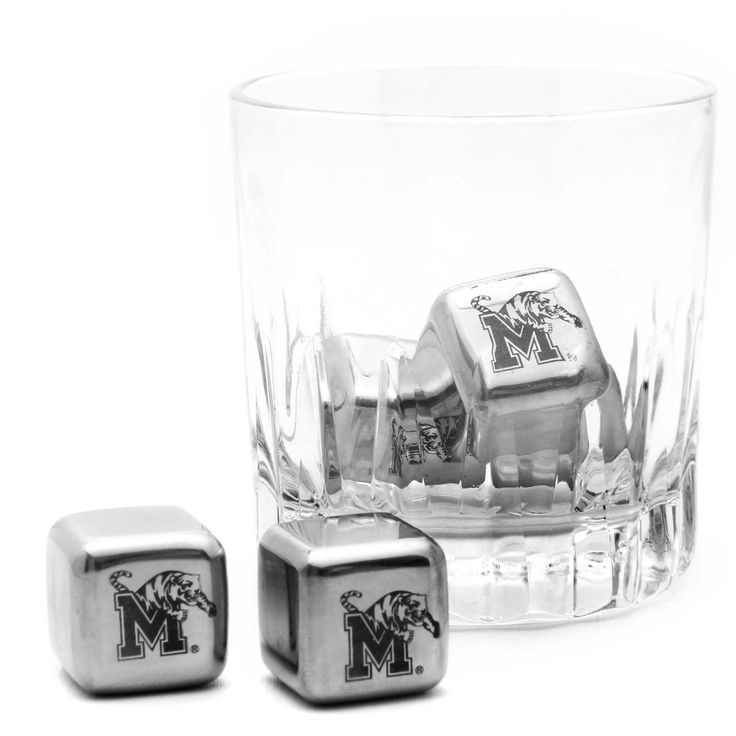 Memphis Tigers Steel Cube Set of 6