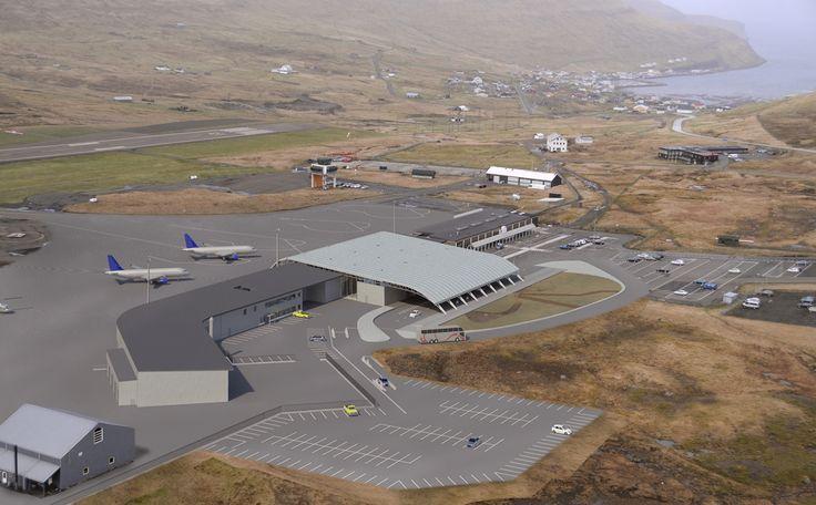 Vagar Airport Terminal - Vagar Island, Faroe Islands, Denmark
