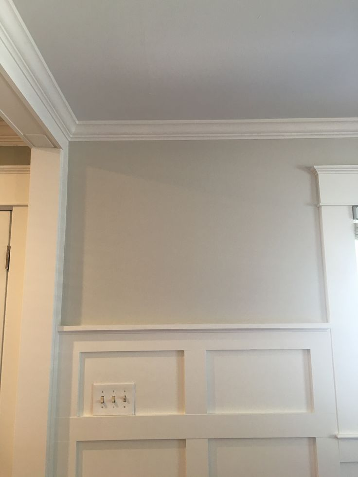 Benjamin Moore Paint: Ceiling-25% Ocean Air Wall-50% ...