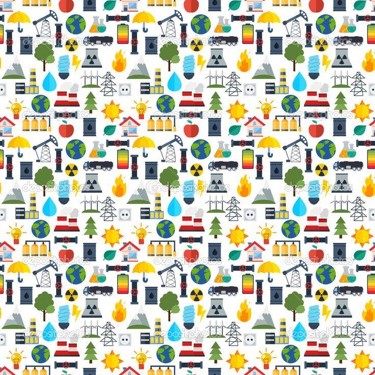 Moderne industriële naadloze patroon achtergrond — Ilustración de stock #49029525