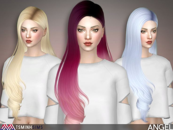 The Sims Resource: Angel Hair 49 by TsminhSims