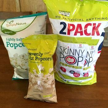 Popcorn Smackdown: SkinnyPop vs SimplyNature vs Heavenly Light -- Guess who won our blind taste test?!