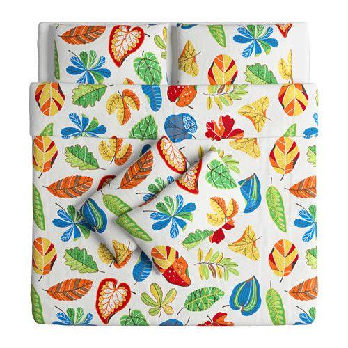 โยนิลล์ ปลอกผ้านวม+ปลอกหมอน4ใบ - 240x220/50x80 ซม. - IKEA