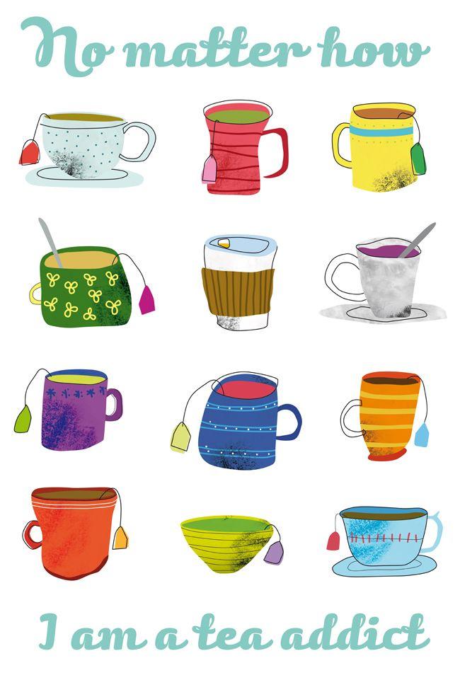 I am a tea addict - Itziar San Vicente