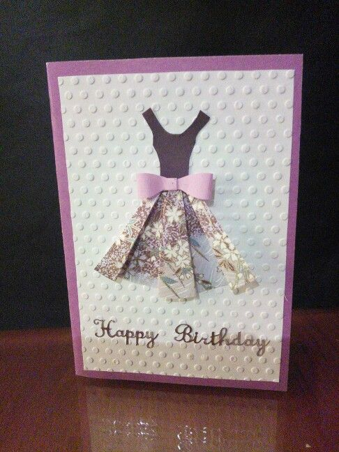A Handmade Card For My Sisters Birthday