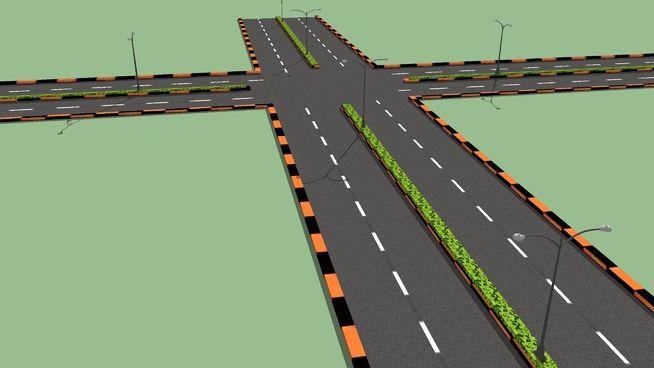 highway Road 2015 - 3D Warehouse