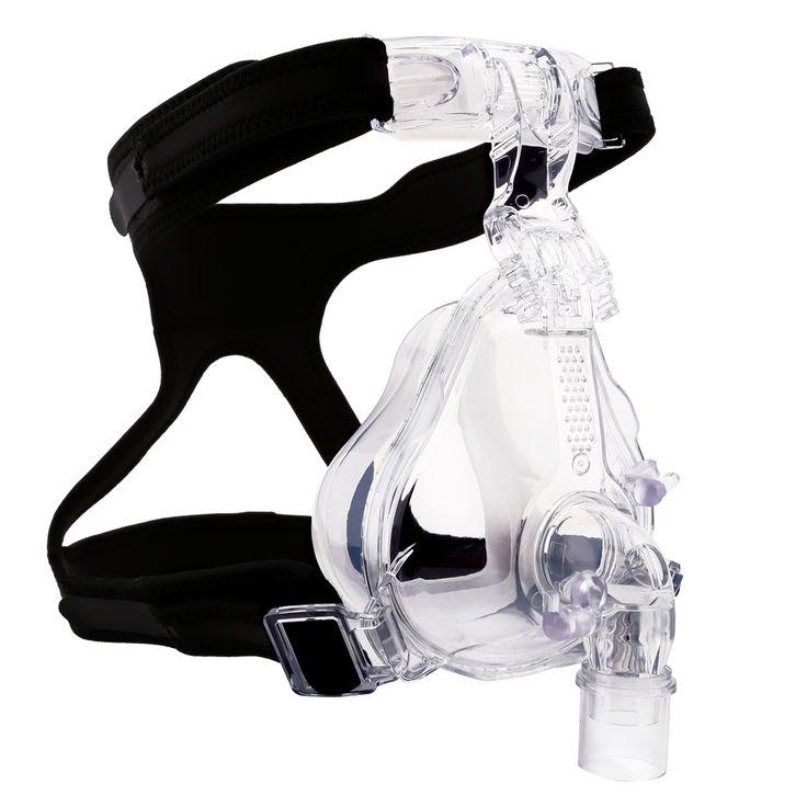 Mcoplus Skynector médica silicone e plástico CPAP / BPAP máscara facial para apnéia do sono com chapelaria FM-05 sml tamanho alishoppbrasil