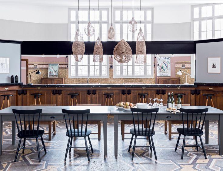 Une salle à manger gigantesque
