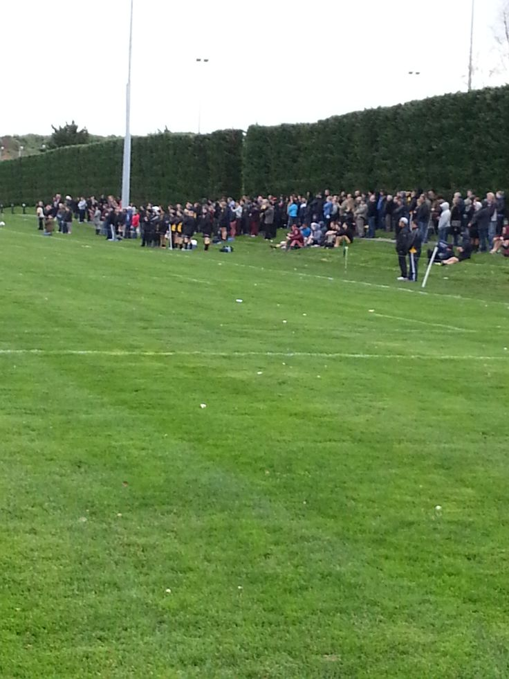 Grassroots rugby is fierce in the Manawatu! Check out the crowd here at the NZ Institute of Sport and Rugby Union  #manawatu  #pnpersonnel