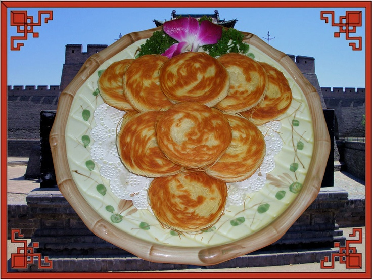 """Qiansibing,when you tear it you will find a lot of """"lines"""",the shell is crispy and sofe inside"""