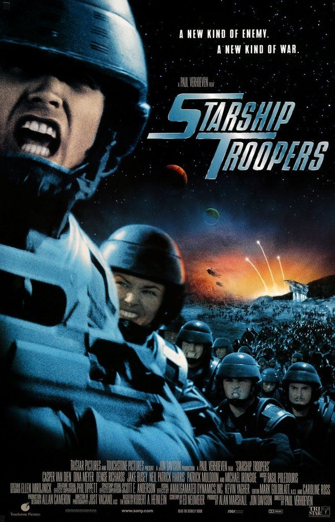 Starship Troopers (1997) Original One-Sheet Movie Poster
